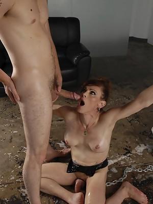 Bondaged TMILF Jasmine Jewels getting fucked